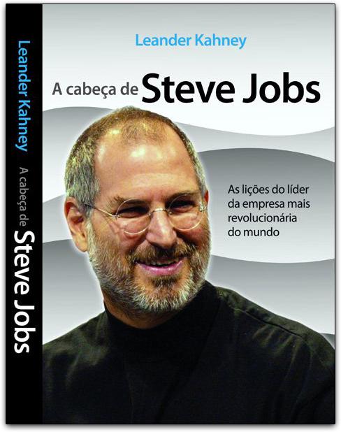 Capa do livro A cabeça de Steve Jobs