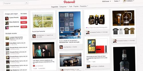O Pinterest é uma rede social excelente para inspiração!